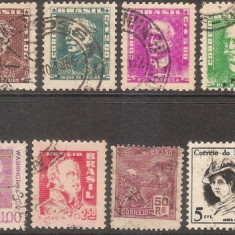Lot Brazilia, stampilat, 1906-1960