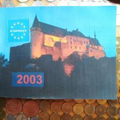 Euro set monede Luxemburg 2003, Europa