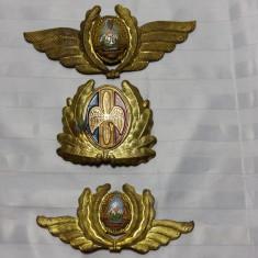 AVIATIE - INSEMNE MILITARE ARMATA ROMANA - INAINTE SI DUPA 1989
