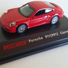 MACHETA PORSCHE 911 CARRERA ROSU H0, 1:87, Vollmerr - Macheta Feroviara