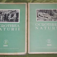Ocrotirea naturii 1955 si 1956 - Carte Geografie