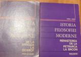 Istoria filosofiei moderne de Florica Neagoe (2 volume)