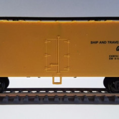 Vagon acoperit Santa Fe - HO, Mehano - Macheta Feroviara Mehano, H0 - 1:87, Vagoane