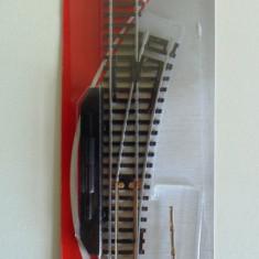 Macaz dreapta H0, Mehano F283 - Macheta Feroviara