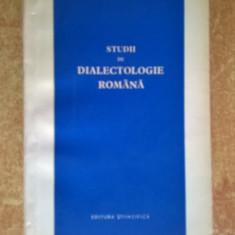 B. Cazacu - Studii de dialectologie romana