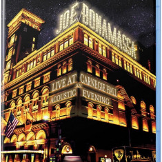 Joe Bonamassa Live At Carnegie Hall An Acoustic Evening (bluray) - Muzica Blues