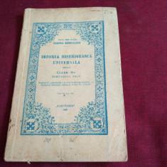 EUGENIU BARBULESCU - MANUAL ISTORIA BISERICEASCA UNIVERSALA CLASA III 1947