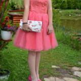 Rochie de ocazie - Rochie de seara, Marime: XL, Culoare: Roz