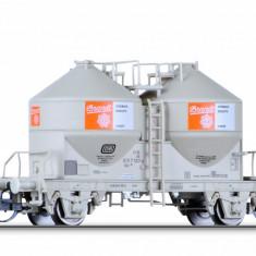 Vagon cereale tip Ucs 909 Brandt, Ep.IV, DB TT Tillig 17761 - Macheta Feroviara Tillig, TT - 1:120, Vagoane