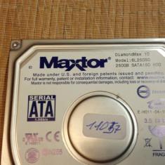 HDD PC Maxtor 250GB Sata (11057) - Hard Disk Maxtor, 200-499 GB, Rotatii: 7200