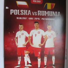 Polonia - Romania (10 iunie 2017), program de meci - Program meci