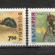 Bulgaria.1992 Insecte KF.38 - Timbre straine, Nestampilat
