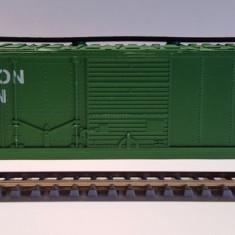 Vagon acoperit Burlington - HO, Mehano - Macheta Feroviara Mehano, H0 - 1:87, Vagoane
