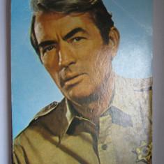 Carte postala actori - Gregory Peck
