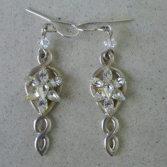 THE LORD OF THE RINGS -The Arwen Evenstar Earrings- ORIGINALI SEMNATI