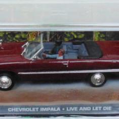 Macheta Chevrolet Impala coupe James Bond, 1:43, Ixo - Macheta auto