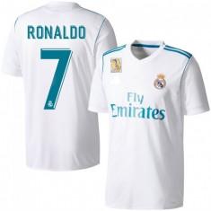 Tricou fotbal REAL MADRID, model 2018 RONALDO 7 - Echipament fotbal, Marime: XL, L, M, S, XS