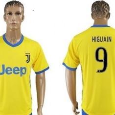 Tricou JUVENTUS model nou 2018 AWAY, 9 Higuain - Tricou echipa fotbal, Marime: S, XL, XS, Culoare: Din imagine, De club, Maneca scurta