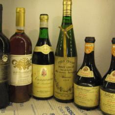 6 sticle vin -VECHI DE COLECTIE - LOT ( S ) recoltare 1991/88/89/89/91 - Vinde Colectie, Aroma: Sec, Sortiment: Rosu, Zona: Europa