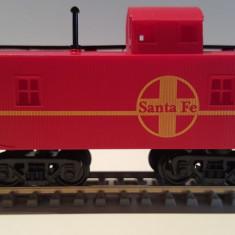 Vagon caboose Santa Fe - HO, Mehano - Macheta Feroviara Mehano, H0 - 1:87, Vagoane