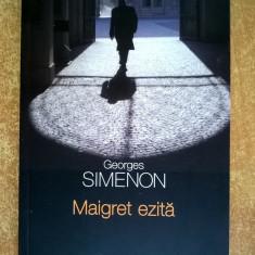 Georges Simenon – Maigret ezita - Carte politiste