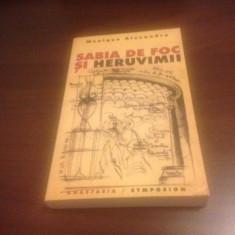 MONIQUE ALEXANDRE, SABIA DE FOC SI HERUVIMII. STUDII