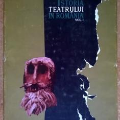 G. Oprescu - Istoria teatrului in Romania, vol. I