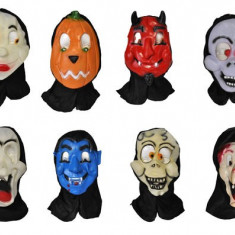 MASCA PETRECERE HALLOWEEN CU GLUGA - Costum Halloween