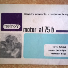 Motor al 75 b Carte tehnica Metrom Brasov