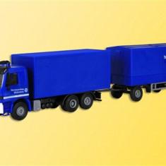 Camion cu Remorca Mercedes Actros H0 Kibri 18473 - Macheta Feroviara