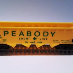 Vagon hopper Peabody - H0, Mehano - Macheta Feroviara Mehano, H0 - 1:87, Vagoane