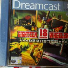 Jocuri Sega Altele DREAMCAST, 18 wheeler trucker, Actiune, Toate varstele, Single player