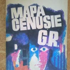 Haralamb Zinca - Mapa cenusie G.R. - Carte politiste