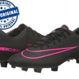 Pantofi sport Nike Mercurial Victory 6 pentru barbati - ghete fotbal originale, Marime: 43, Culoare: Negru, Iarba: 1