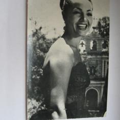 Carte postala actori - Sarita Montiel