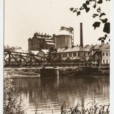 ALBA - OCNA MURES -UZINA DE PRODUSE SODICE 1968 RSR - Carte Postala Transilvania dupa 1918, Circulata, Fotografie