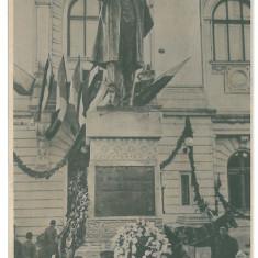 3866 - IASI, Kogalniceanu statue - old postcard - used - 1914 - Carte Postala Moldova 1904-1918, Circulata, Printata
