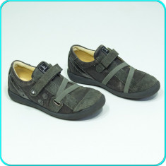 DE CALITATE → Pantofi usori, comozi, piele cu aspect vintage BAMA → fete | nr 30 - Pantofi copii, Culoare: Din imagine, Piele naturala