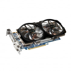 Placa video GeForce GTX 660 Ti 2GB DDR5 GIGABYTE GV-N66TWF2-2GD ca noua ! - Placa video PC Gigabyte, PCI Express, nVidia