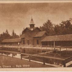 ALBA - OCNA MURES UIOARA - BAIA LIBERA -CENZURA 1950, Circulata, Fotografie
