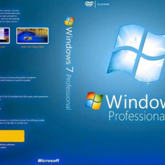 LICENTA Windows 7 PROFESSIONAL+ antivirus gratuit - Sistem de operare, DVD, OEM, peste 10