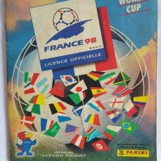 Album Stikere fotbal, Panini, Campionatul mondial din Franta 1998, complet 90%