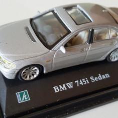 Macheta BMW 745i sedan Scara 1:72 Cararama - Macheta auto
