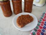 Zacusca de vinete, cu ciuperci, mere si miere