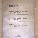 Anuarul Liceului comercial de baieti din Arad pe anii scolari 1938-39-1942-43 - Carte veche
