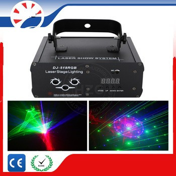 Laser lumini disco  profesional Rosu Verde Albastru  DMX foto