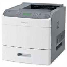 Imprimante second hand 50ppm Lexmark T652DN - Imprimanta laser alb negru