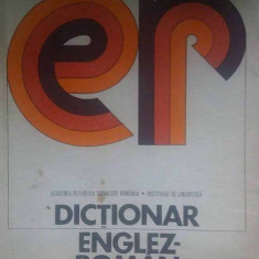 Dictionar englez-roman - Autor(i): Academia RSR