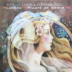 LEBADA * FLOARE DE SOARE - Nicolae Coban, Evdochia Pavel - Muzica pentru copii, VINIL
