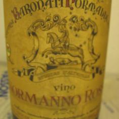 N. 31- vin normanno rosso, produttore diego rallo, recoltare 1969, cl 72 gr 12 - Vinde Colectie, Aroma: Sec, Sortiment: Rosu, Zona: Europa